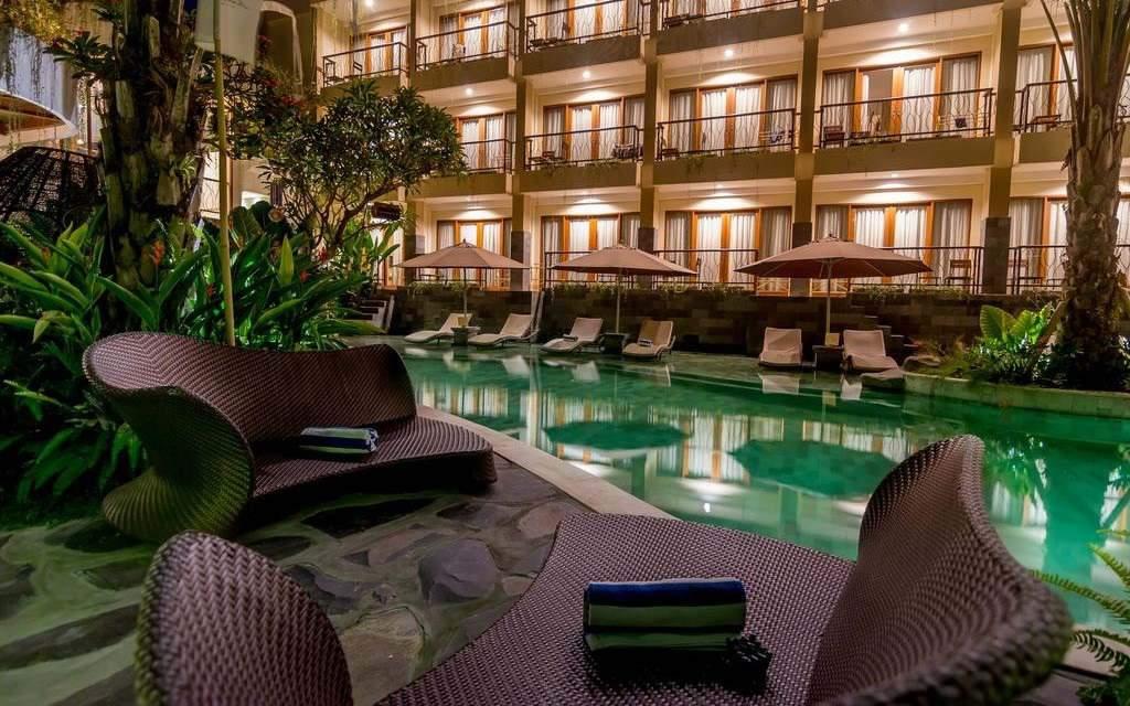 Anumana Ubud Hotel Pool View