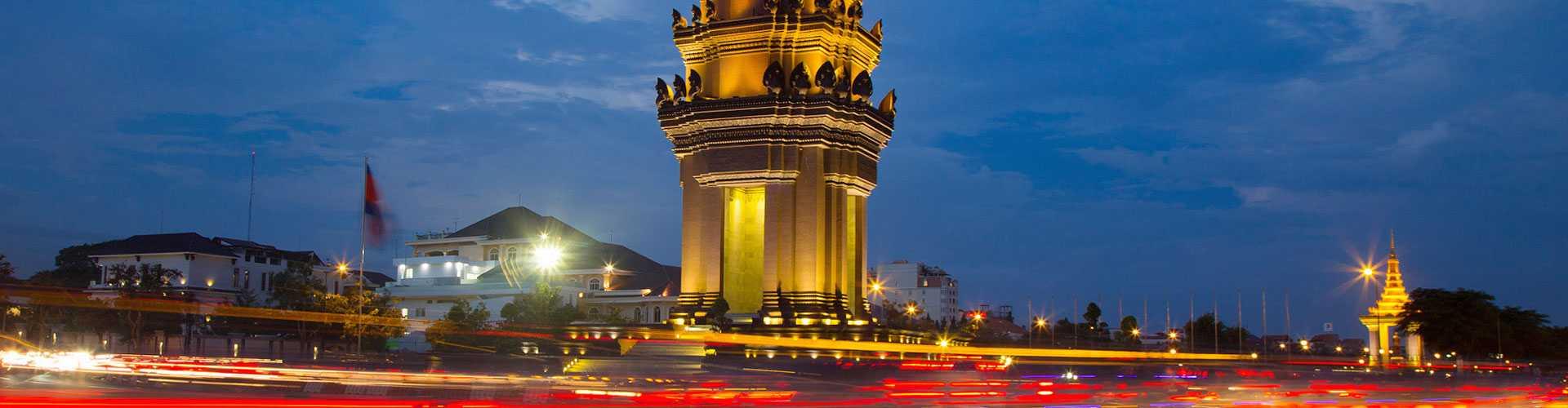 Monumento de la Independencia de Phnom Penh