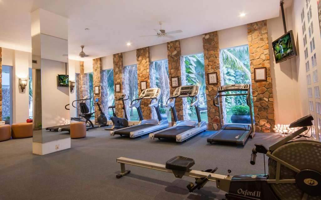 Centro de fitness do Lotus Blanc Resort