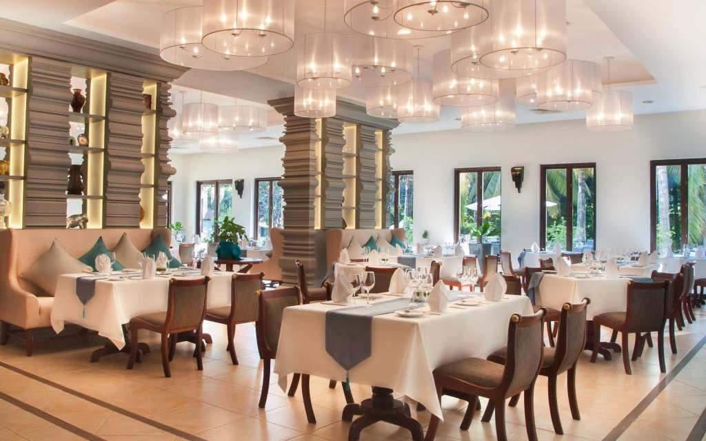 Restaurante do Lotus Blanc Resort