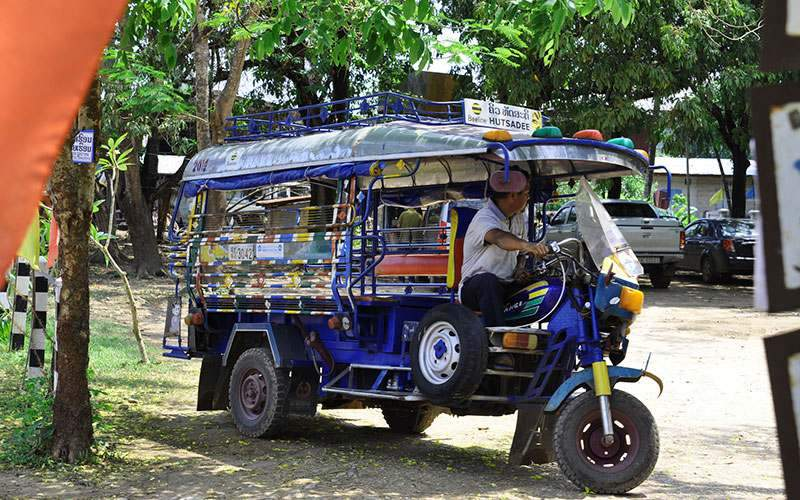 Battambang tuk tuk