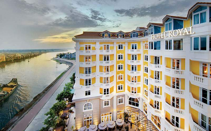 Panorama do Hotel Royal Hoi An