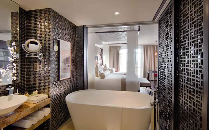 Quarto de Luxo do Hotel Royal Hoi An