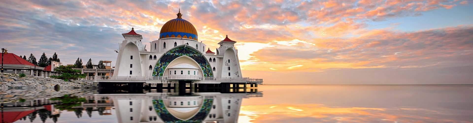 Straits Mosque Malacca