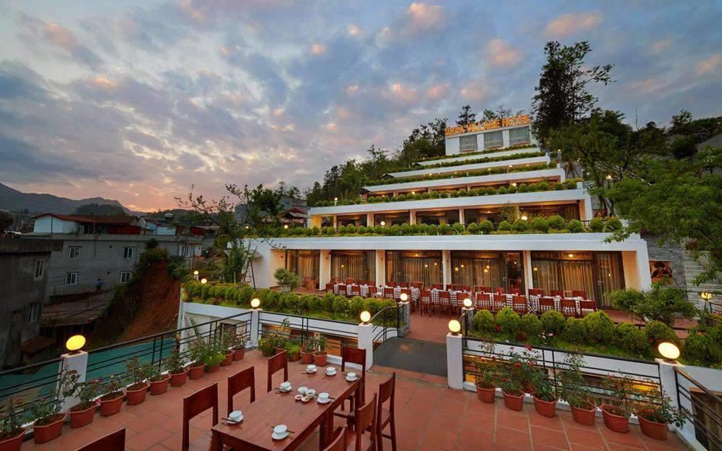 Sapa Village - уникальный отель в стиле рисовых террас
