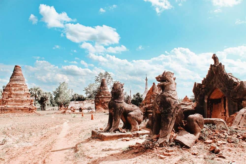 Pyu Ancient Cities myanmar