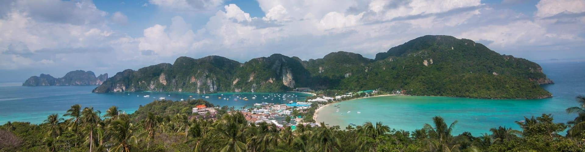 view of phi phi island