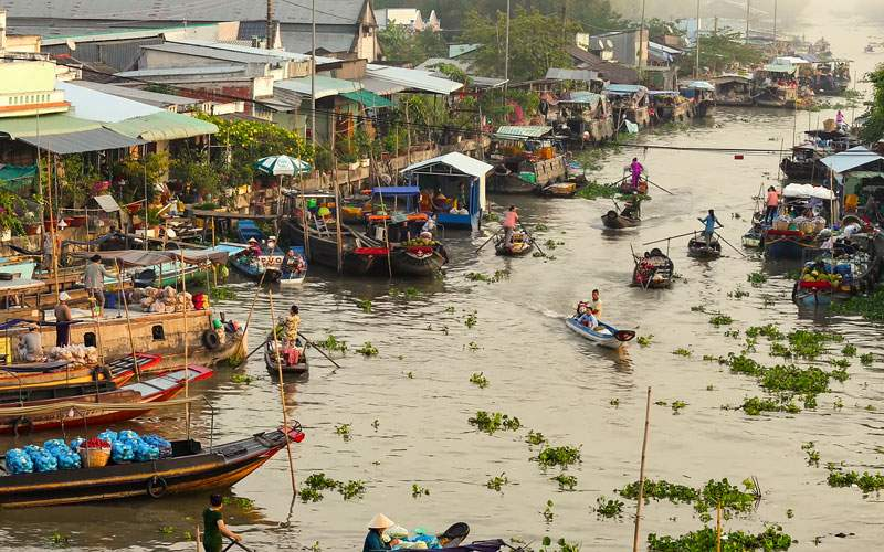 Best time to visit Mekong Delta