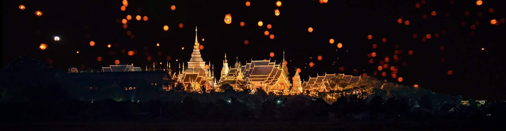 Wat Phra Singh at latern festival