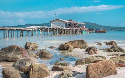 Principal do Camboja e ilha de Koh Rong