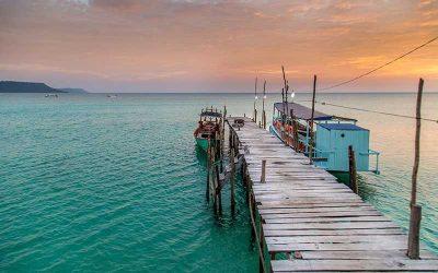 O Camboja e Koh Rong dos sonhos em português