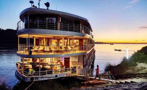 Fantasía en Myanmar por el río Irrawaddy