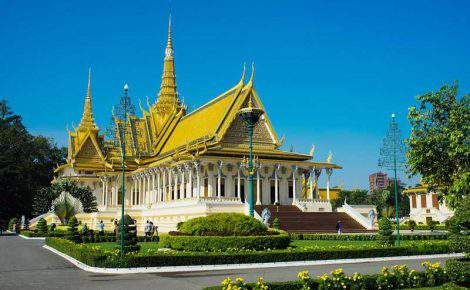Excursão de um dia na capital Phnom Penh com guia falante de espanhol