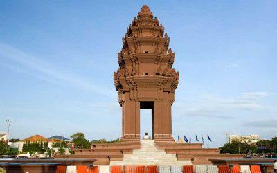 Excursão em Udong Stupas e city tour de Phnom Penh um dia inteiro com guia em português