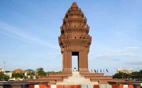 Excursão em Udong Stupas e city tour de Phnom Penh um dia inteiro com guia falando espanhol