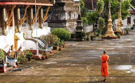 Laos Vietnã, Camboja, Tailândia em 16 dias.