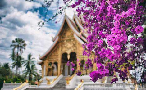 Coração do Laos.
