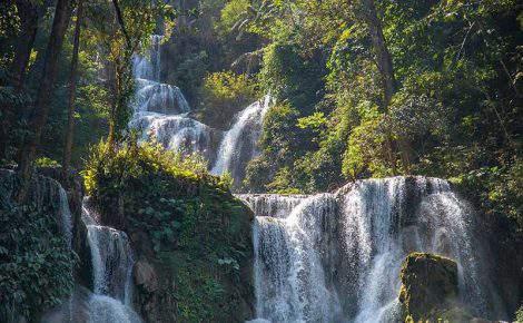 Excursão de um dia em Luang Prabang com caverna Pak Ou & Cachoeira Kuang Si