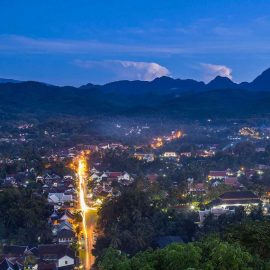 La noche en Luang Prabang