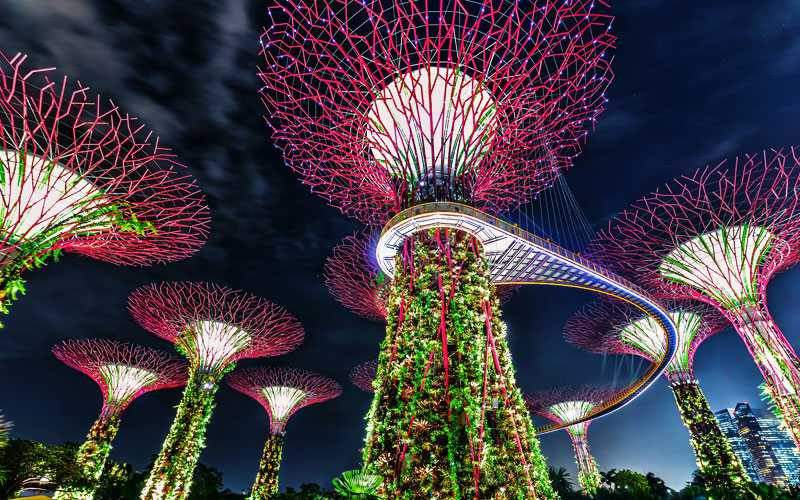 A melhor época para visitar para Singapura