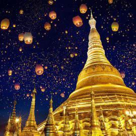 pagoda de Swedagon