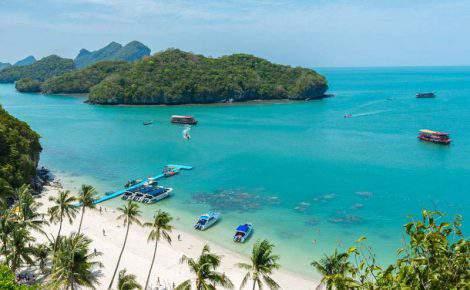 Tailândia com Koh Samui dos sonhos.