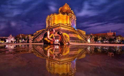 Luces de Tailandia y Bangkok