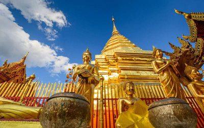 Chiang Mai & Templos incluido Doi Suthep de medio día con guía de habla hispana