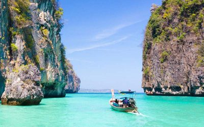 Excursión por la costa a las islas Koh Phi Phi con guía en español desde la terminal de cruceros de Phuket