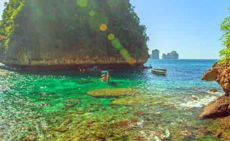 Jóias do Vietnã e praia de Koh Phi Phi.