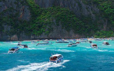 Excursión de un día en Koh Phi Phi con guía en español desde Ao Tonsai Pier
