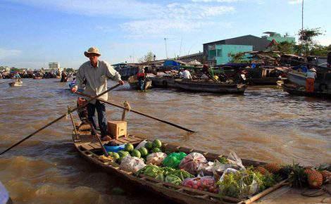 Excursión al delta del Mekong y Ben Tre en español