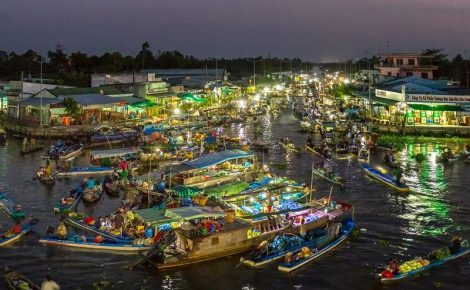Delta del Mekong y My Tho día completo con guía en español