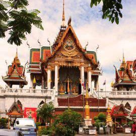 Wat Hualampong in Bangkok