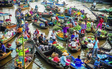 Excursão de um dia no Delta do Mekong e My Tho com guia falante de português