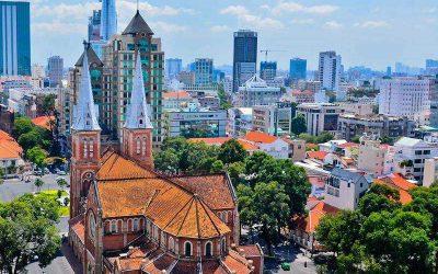 Excursão de um dia na cidade de Ho Chi Minh e túneis Cu Chi com guia falante de português