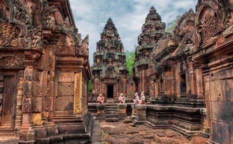 Excursão de um dia em Siem Reap com guia falante de português