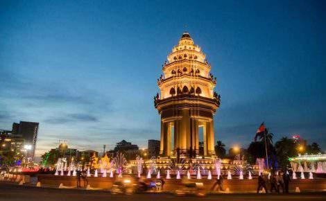 City tour de Phnom Penh, Campo Tuol Sleng y Choeung Ek con guía de habla hispana
