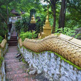 Stairs at Mount Phousi