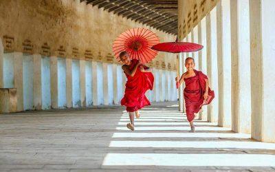 Encantos de Myanmar.