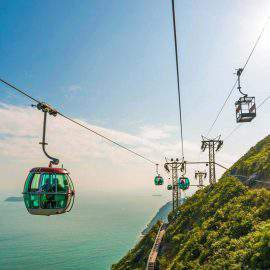 Cablecar system of OCEAN PARK
