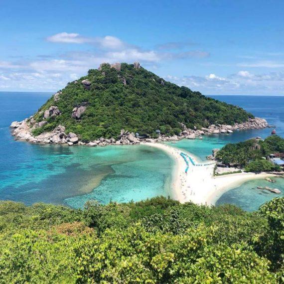 Koh Nang Yuan islets