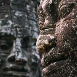 Las caras de Bayon en Angkor