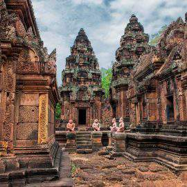 Templo Banteay Srei sieam reap