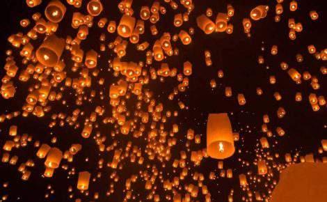 Saiba tudo sobre o festival das lanternas na Tailândia em 2020