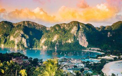 Maravilhas da Tailândia com Ilha Phi Phi.