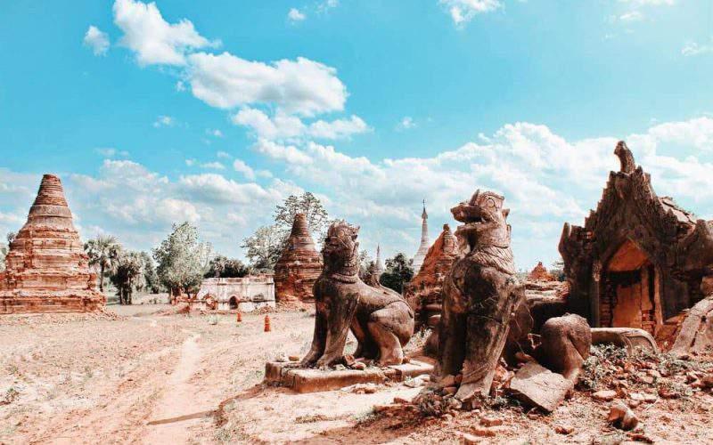 Admirables patrimonios culturales de Myanmar