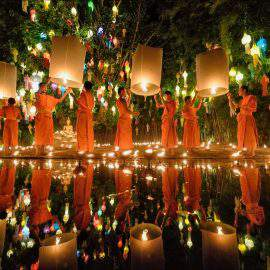 Festival de linternas de Chiang Mai