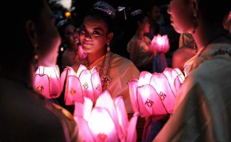 Tailândia, Laos, Vietnã e Camboja com festival de lanternas em Chiang Mai.