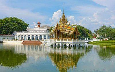Excursión de un día a Ayutthaya en español y crucero de Grand Pearl